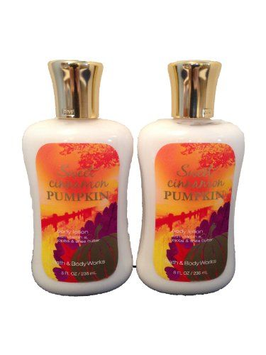 Bath  Body Works Sweet Cinnamon Pumpkin 80 Oz Body Lotion 2 Pack >>> Click image for more details.