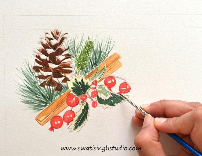 The 23 Best Watercolor Fruits Tutorials Images On Pinterest