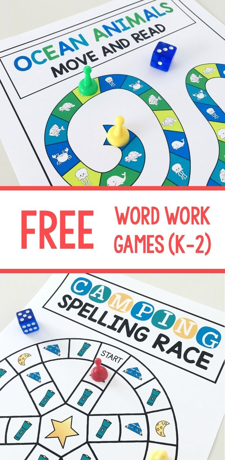 Flexible phonics games are the BEST because you can