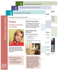 Chemotherapy Side Effects Sheets - National Cancer Institute