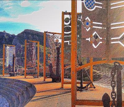 El Museo de las Anclas en Salinas es un sitio perfecto para pasar una tarde con los peques al aire libre.