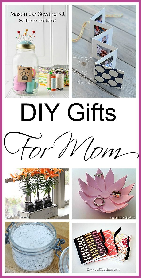 DIY Mother's Day Gifts -  a great collection of awesome gift ideas that any Mother would love!