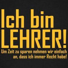 lehrer T-Shirts