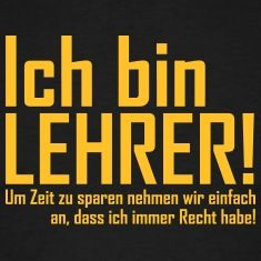 lehrer T-Shirts