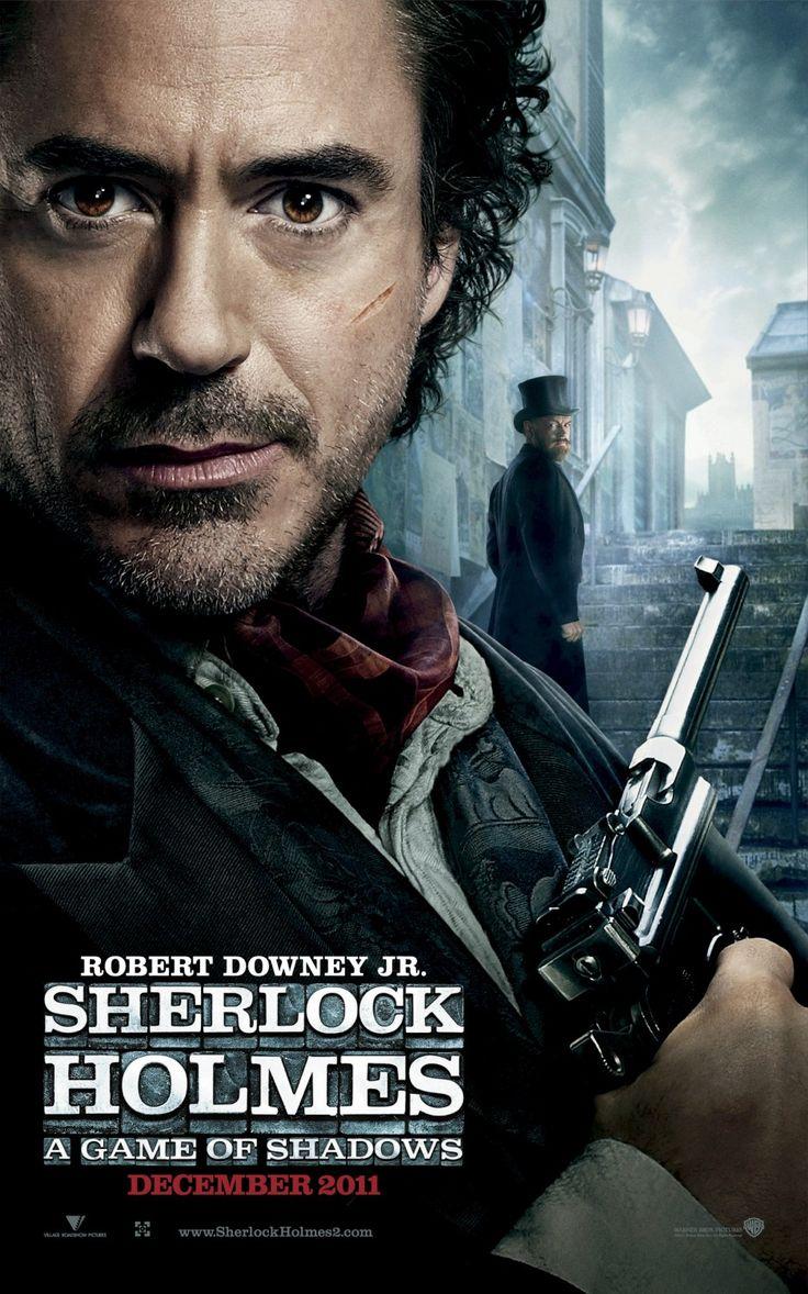 Sherlock Holmes avec Robert Downey, Jr. Très bon film ! Le 1er est genial, le 2e un peu moins mais quand même sympa ; )
