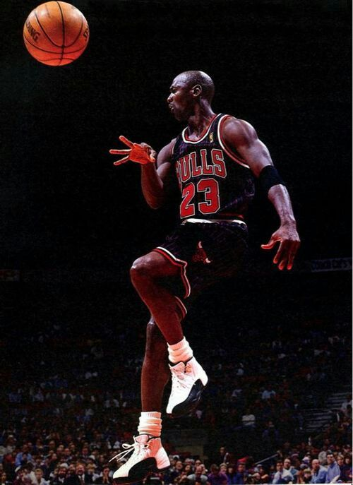 """""""I've missed more than 9000 shots in my career. I've lost almost 300 games. 26 times, I've been trusted to take the game winning shot and missed. I've failed over and over and over again in my life. And that is why I succeed."""" - Michael Jordan"""