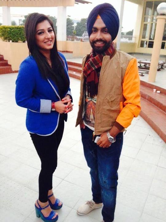 Vishakha Thakur With Amy virk