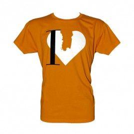 T-shirt inLove Uomo arancio