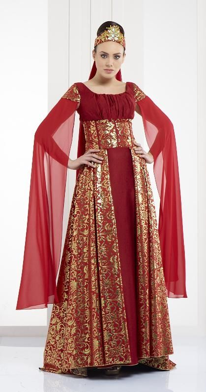 Turkish Caftan /Bindallı, Henna Night Dress, designer Sevda Gevenci
