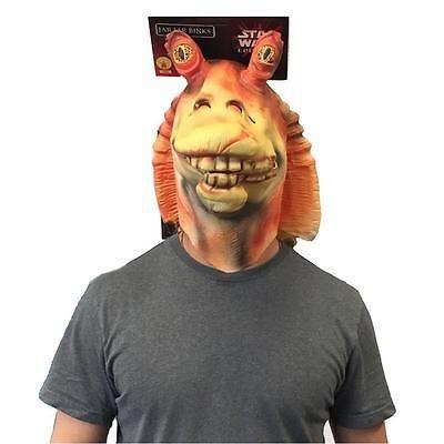 Star Wars Episode I Jar Jar Binks Mask Officially Licensed Costume Rubie's CHOP