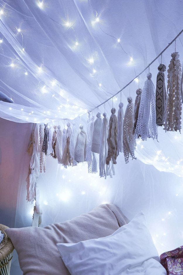 Indoor String Lights Pinterest : 1000+ ideas about Bedroom Fairy Lights on Pinterest String lights bedroom, Indoor string ...