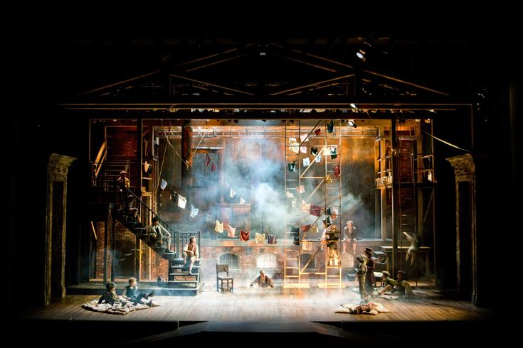 Oliver! Cabrillo Stage. Scenic design by Charles Murdock Lucas.