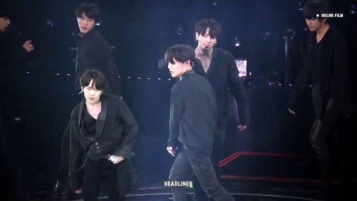 BTS  LET GO -방탄소년단 정국 직캠 REAL VOICE ( WITHOU AUTOTUNE ) 2018
