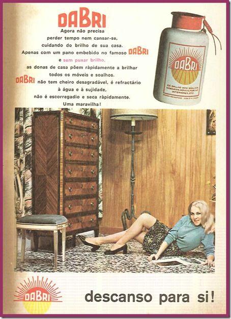 Cartaz publicitário do final dos anos 60.