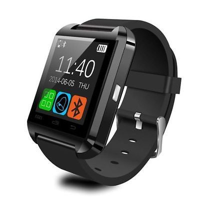 Smartwatch Bluetooth U watch Touchscreen Smartphone Visualizza Ricezione Notifiche Facebook Whatsapp Chiamate messaggi compatibile con Iphone 3 4 5 6 Samsung S Note Advance