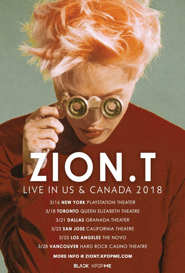 Zion T To Hold Concerts In U S  And Canada This March