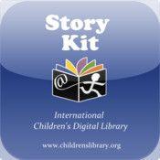 StoryKit. Lav små historier med billeder, tekst og lyd. Du kans uploade din historie på nettet. Du får et link, som du kan sende til andre. Så dukker historien op på et site. Meget enkelt og brugervenligt.