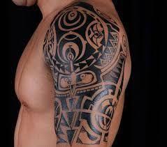 Resultado de imagen para tatuajes tribales en brazo y hombro #maoritattooshombro #maoritattoosbrazo