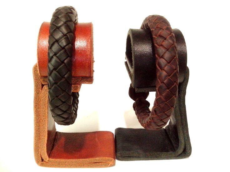 Exhibitors leather bracelets