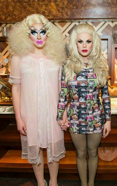 Trixie Mattel and Katya Zamolodchikova #arts_and_crag