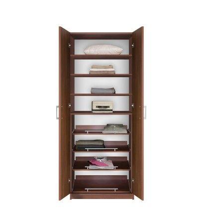 Bella Free Standing Closet - Wardrobe Storage Closet