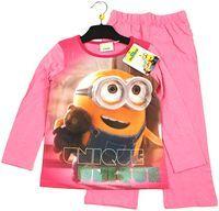 Nové - Růžové pyžamo s Mimoněm