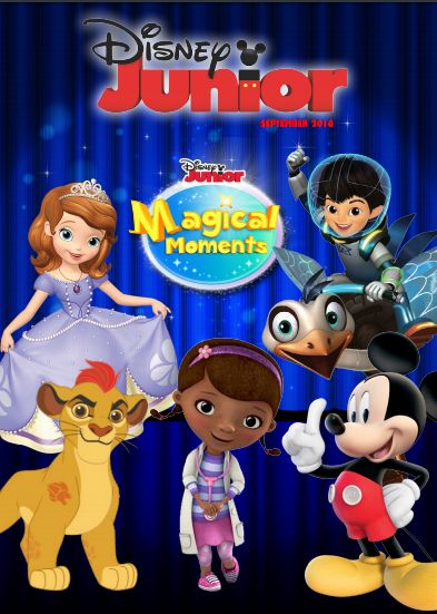 DISNEY JUNIOR MAGICAL MOMENTS - Ceritera Si Gadis Biru