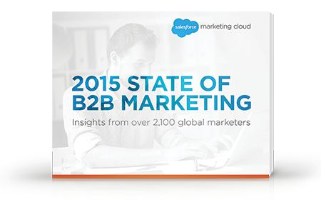 2015 State of B2B Marketing (registration required)