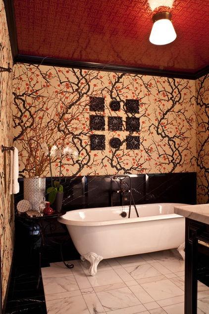 for a guest bedroom and bath elizabeth gordon of elizabeth eclectic bathroombathroom interiorbathroom - Eclectic Bathroom Interior