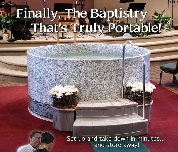 The Truly Portable Baptistry   Wish List. Church DesignChurch IdeasWish List