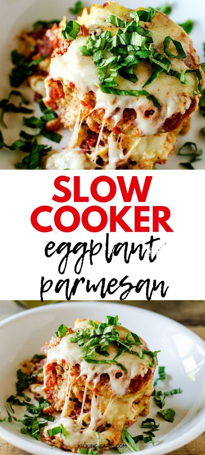 Slow Cooker Eggplant Parmesan Recipe Slow Cooker Eggplant