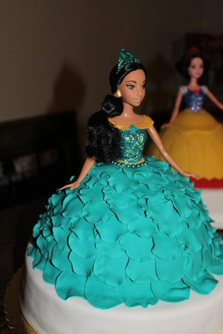 Disney Princess Jasmine cake