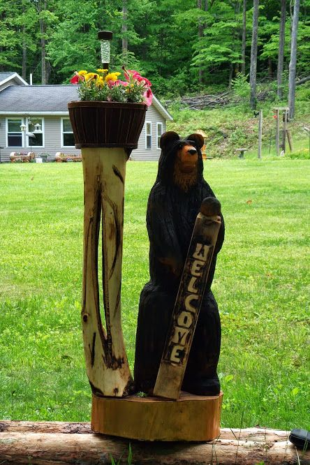 Best images about chainsaw carvings on pinterest new