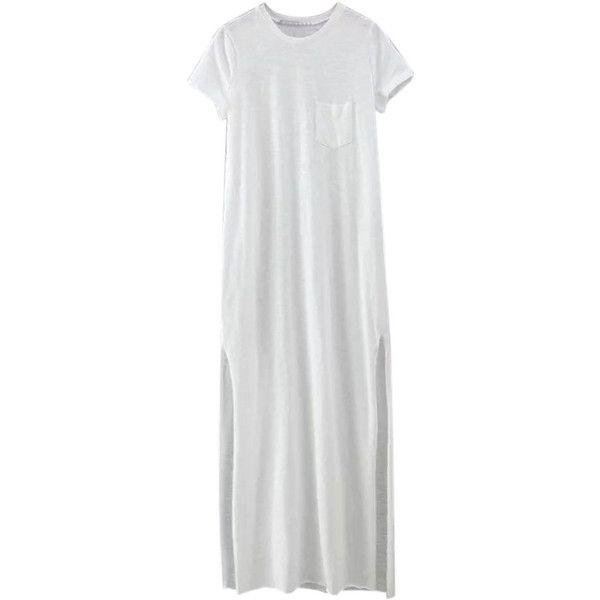 Maxi t-shirt dresses cotton