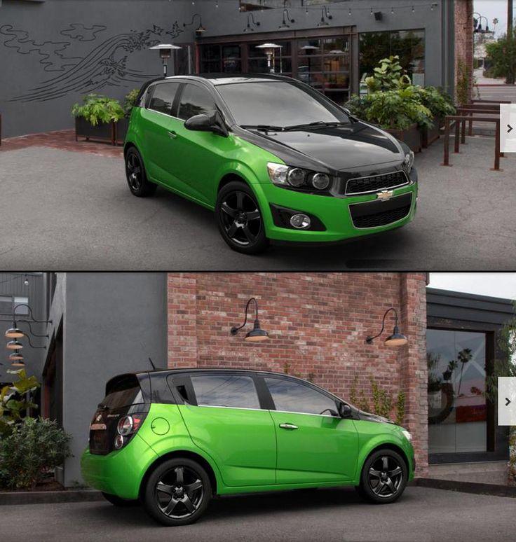 Dragon green chevy sonic