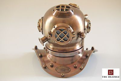 #Antique finish #nautical u.s. navy divers diving #helmet,  View more on the LINK: http://www.zeppy.io/product/gb/2/331996672372/