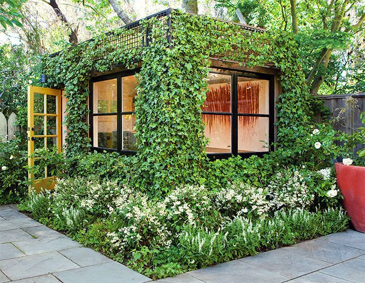 This lush, green cube is a dream artist's studio hidden in a San Francisco garden | Inhabitat - Sustainable Design Innovation, Eco Architecture, Green Building