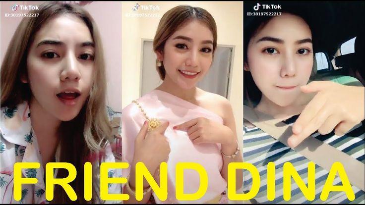 Tik Tok Friend Dina Cute Beautiful 2018