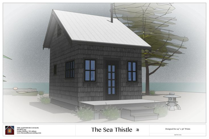 No. 14 - The Sea-Thistle Cabin — THE small HOUSE CATALOG