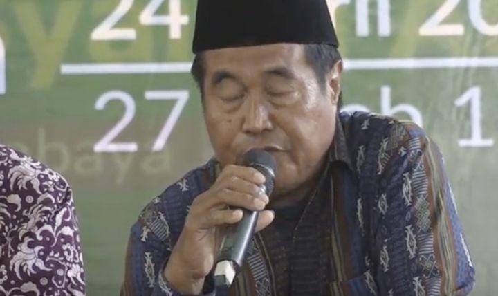Video Detik-detik Qori Meninggal Saat Melantunkan Ayat Suci Al Quran di Rumah Menteri Khofifah