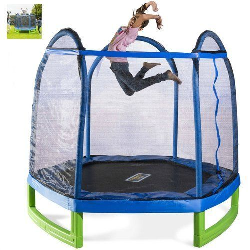 Trampoline-For-Kids-Active-Enclosure-Outdoor-Indoor-Mini-Jumping-Exercise-Safety