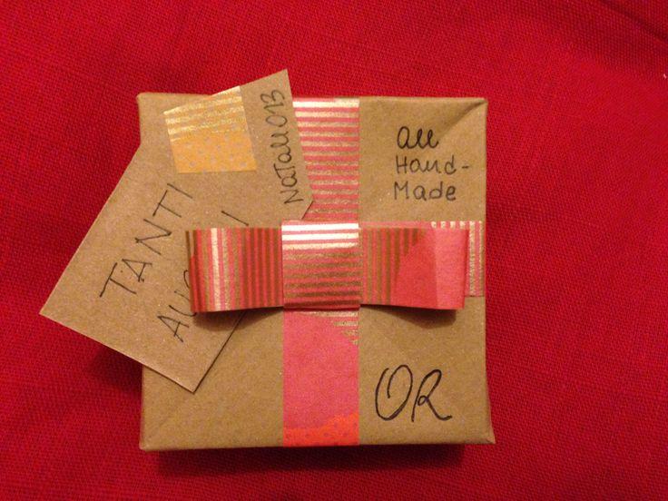 custom gift box / origami box / washi tape