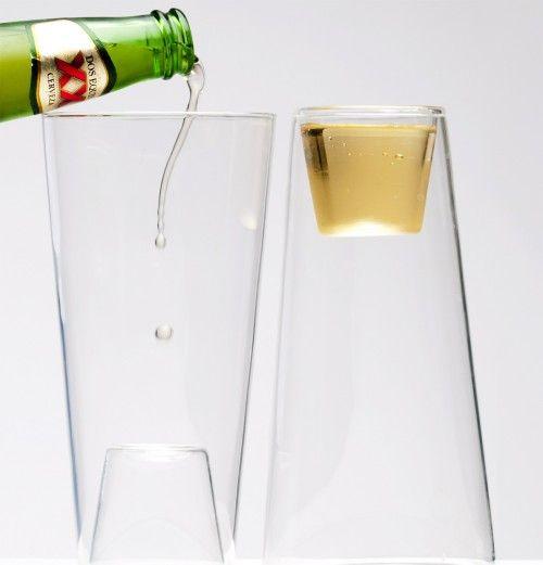 BeerShot: Beer Glasses, Stuff, Gifts Ideas, Beer Shots Glasses, Kitchens Gadgets, Drinks, Beershot Glasses, Products, Design