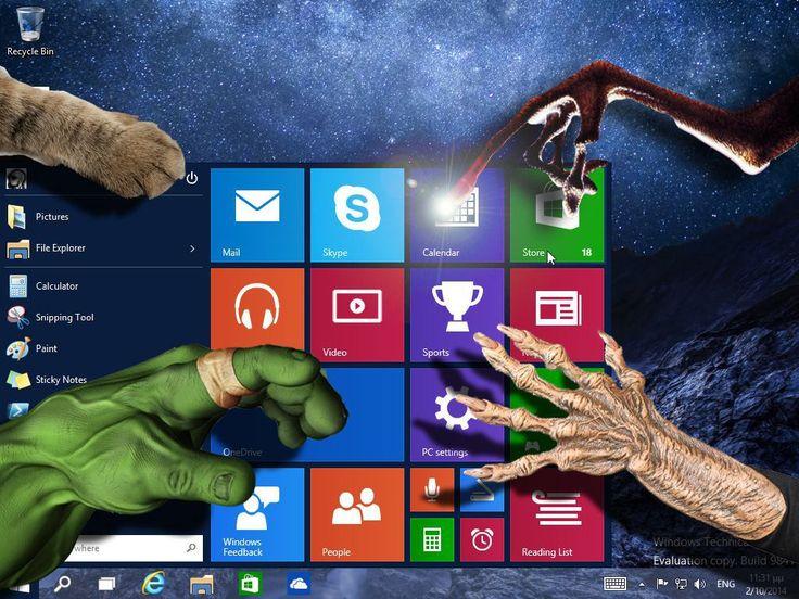 Windows 10 hands-on | unregistered.gr