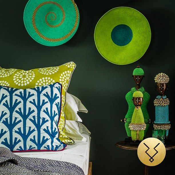 Blue and green scheme. Shop now at www.kuduhome.com  #kudu #kuduhome #africa #african #instagood #interiors #interiordesign #instastyle #interiordesign #home #decor #decorate #green #blue #beautiful #photooftheday #art #home #africaninspired #instahome #lifestyle #homeideas #africandecor #interiorismo #decoraciòn #asesorias #colours #summer #summertime
