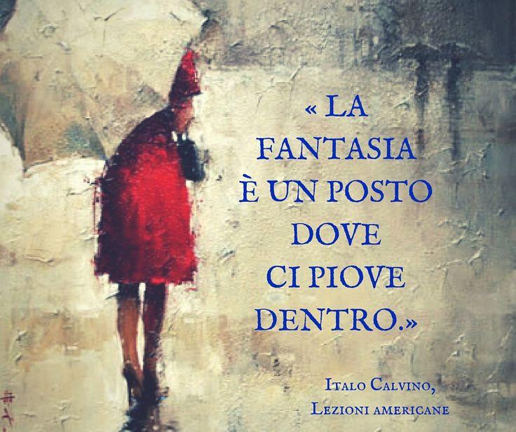 Italo Calvino, Lezioni americane. Fantasia.