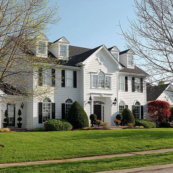 Early New England Homes Double Wa