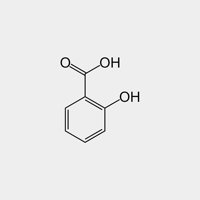 Salicylic acid (from Latin salix willow tree) is a #lipophilic monohydroxybenzoic acid a type of #phenolic #acid and a beta hydroxy acid (BHA). It has the formula #C7H6O3. This colorless crystalline #organic acid is widely used in organic #synthesis and functions as a plant hormone. It is derived from the metabolism of salicin. In addition to serving as an important active metabolite of #aspirin (acetylsalicylic acid) which acts in part as a prodrug to salicylic acid it is probably best…