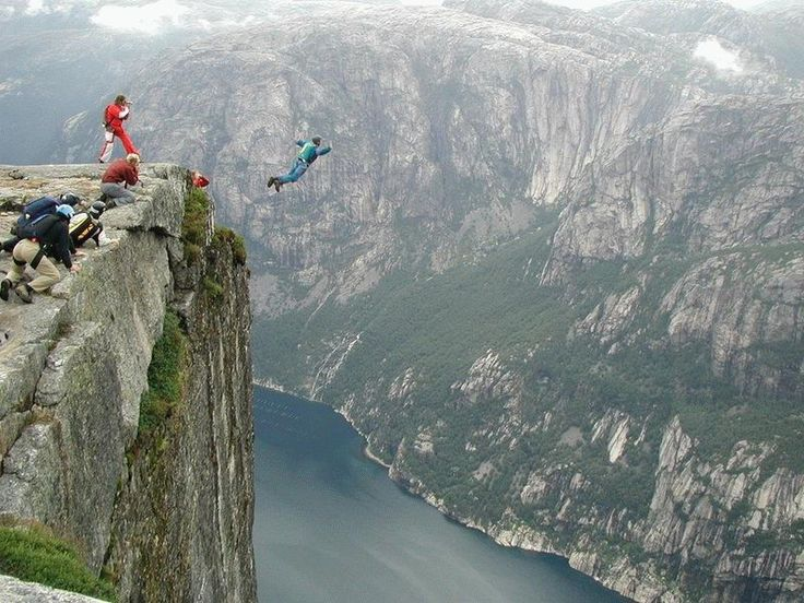 Best Base Jump Images On Pinterest Pictures Bucket Lists And - Crazy guy base jumps radio tower