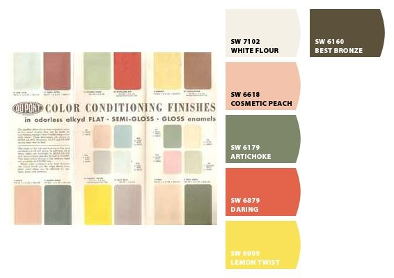 98 Best Images About Vintage Color Palettes On Pinterest